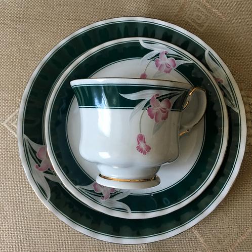 Vintage German Fena Porcelain Cup and Saucer