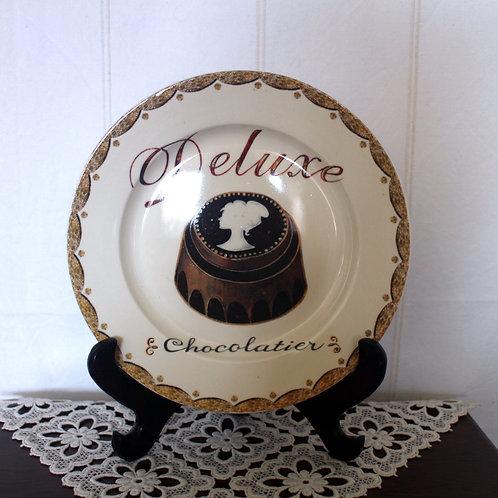 Deluxe Chocolatier Ceramic Plate