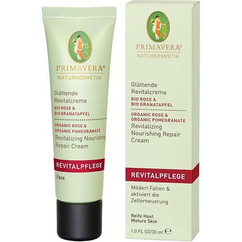 Primavera Rose Pomegrana Revitalizing Nourishing Repair Cream有機玫瑰石榴煥膚修護潤澤霜