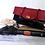 Thumbnail: Vintage Black & Red Patent Leather Framed Handbag