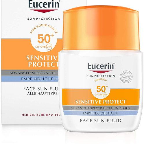 Eucerin Sun Fluid LSF50 優色林抗敏防曬柔膚霜
