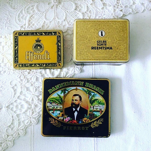 Effendi Old Tin Cigarette Case