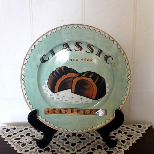 Classic Truffles Ceramic Plate