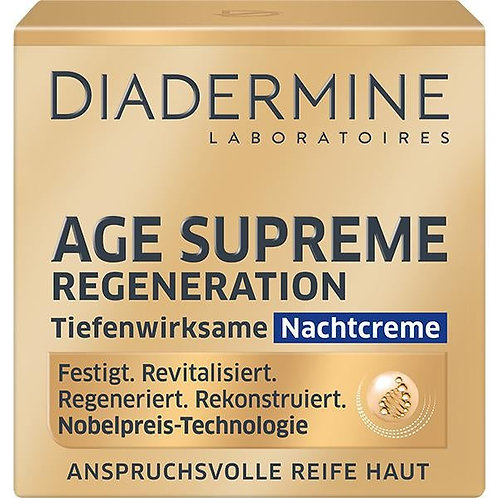 Diadermine Age Supreme Regeneration Night Cream 至尊再生抗皺晚霜