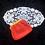 Thumbnail: Retro Orange Red Leather Coin Purse