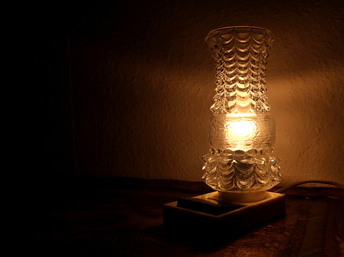 Vintage German Bedside Lamp from the 60s