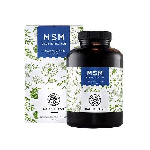 Nature Love MSM+天然維他命C補充劑