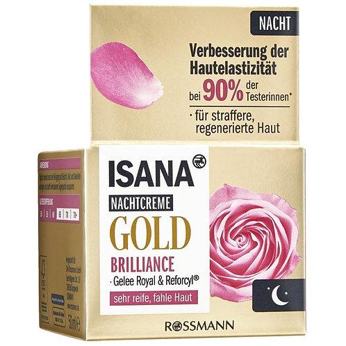 ISANA Gold Brilliance Night Cream 熟齡黃金高效系列晚霜