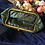 Thumbnail: 50s Vintage Olive Green Kiss Lock Leather Purse