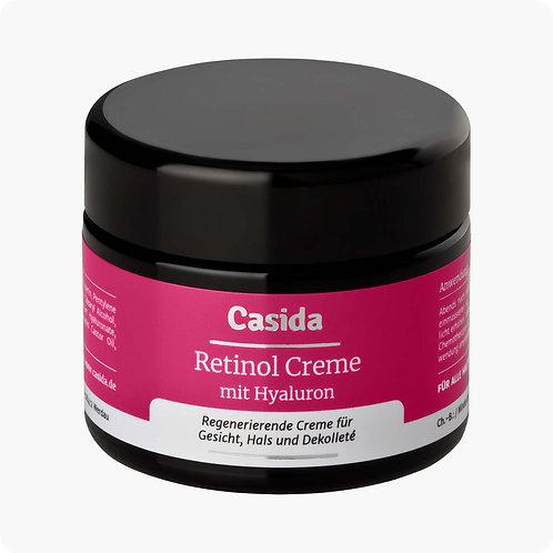 Casida Retinol Cream with Hyaluronic Acid 維甲醇煥膚臉霜