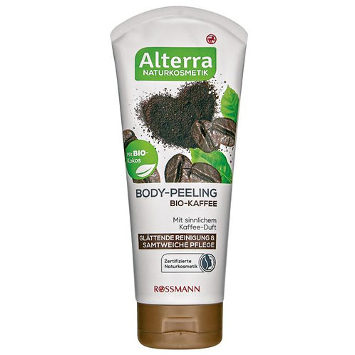Alterra Organic Coffee Body Scrub 有機咖啡身體磨砂乳
