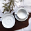 Thumbnail: Seltmann Weiden Salzburg Mid Century White Soup Cup And Saucers