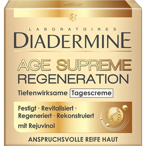 Diadermine Age Supreme Regeneration Day Cream 至尊再生抗皺日霜