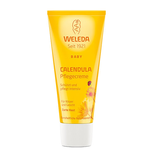 Weleda Baby Calendula Body & Face Care Cream 金盞花嬰幼兒身體臉部柔護霜