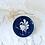 Thumbnail: Hand Painted Heron Crane Ceramic Art Dish