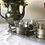 Thumbnail: Vintage German Kassack Pewter Tin Cups/Glasses