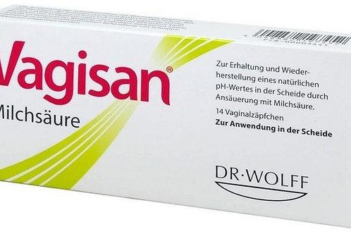 (臨時用) Vagisan Milchsäure Vaginalzäpfchen
