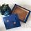 Thumbnail: Vintage Hand Painted Wooden Sewing box / Trinket Box