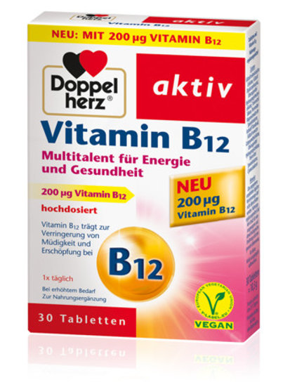 Doppelherz  Vitamin B12 Tablets 維他命B12 營養補充片
