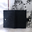 Thumbnail: Vintage  60s-70s Ostrich Grain on Calf Skin Leather Ladies Wallet