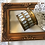 Thumbnail: Vintage  Brass Mother of Pearl Trinket Box