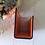 Thumbnail: Vintage Leather Letter Stand /Letter Rack