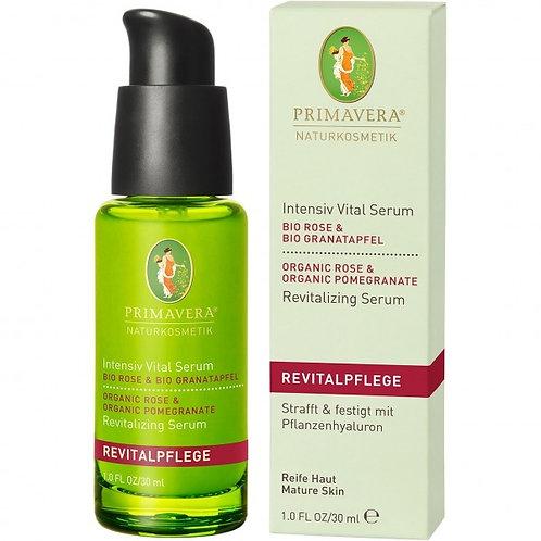Primavera Organic  Rose Pomegranate Intensive Vital Serum 有機玫瑰紅石榴強效煥膚精華
