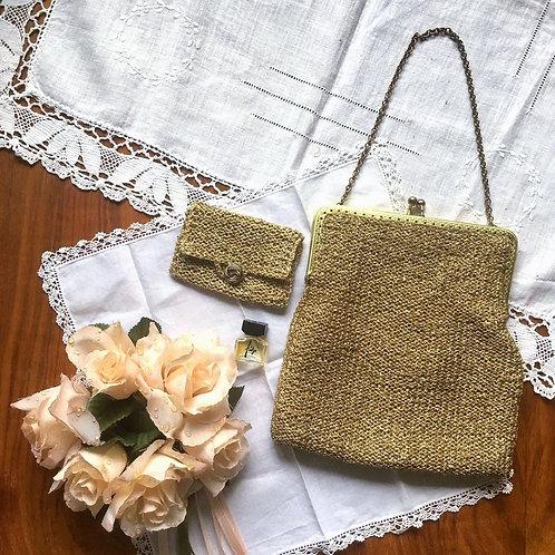 金蔥線中古手挽包及配件