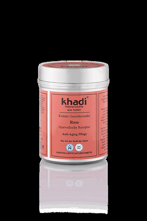 Khadi 阿育吠陀草本玫瑰抗皺補濕面膜