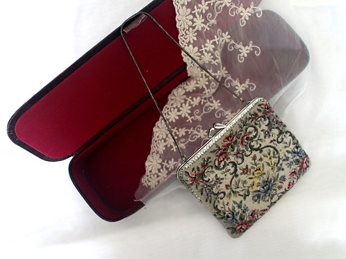 Vintage Gobelin Evening Bag