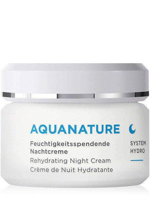 Annemarie Börlind AQUANATURE  HYDRO Smoothing Night Cream煥顏24小時高效保濕晚霜