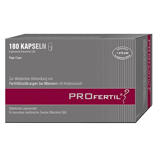 奧地利 PROfertil®富精多男士營養補充膠囊 (180粒裝)