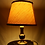 Thumbnail: 60s Table Lamp with Brass Base