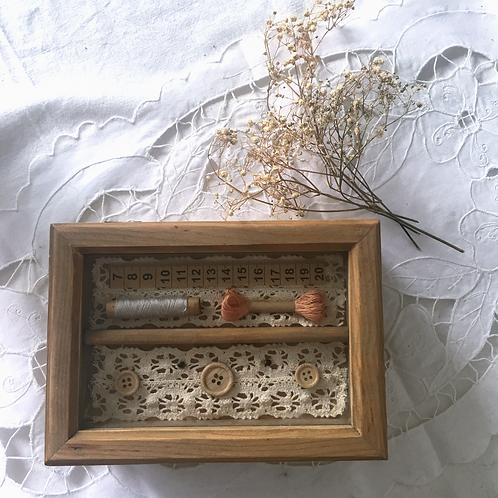 荷蘭製針黹木盒