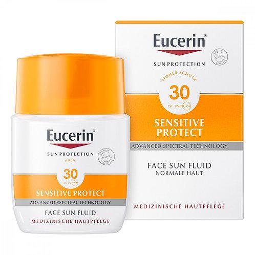 Eucerin Sun Fluid LSF30 優色林抗敏防曬柔膚霜