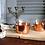 Thumbnail: Vintage SCHOTT MAINZ German Tea glasses Copper