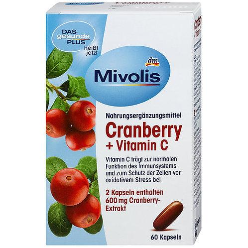 Mivolis 蔓越莓+維他命C營養補充片