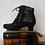 Thumbnail: Rieker Vintage Black Ankle Boots, EU 38