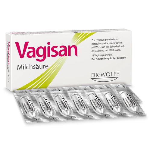 Vagisan  陰道活性益生乳酸菌栓劑(14劑)
