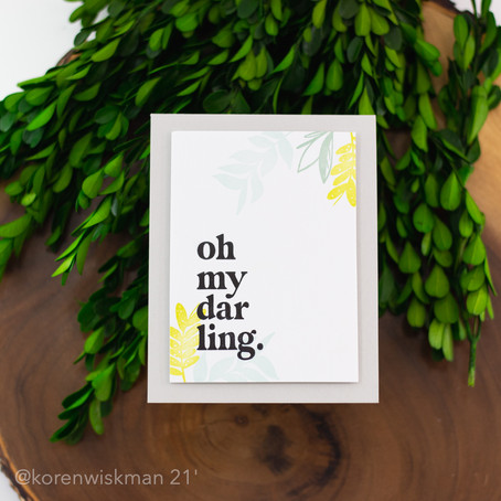 The One with the Gina K Designs April 2021 Card Projects
