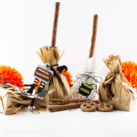 The One with the MFT Everything but the Broom Halloween Broomstick Treat Bags