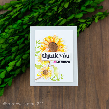 The One with Gina K Designs Bloom and Grow with My Favorite Watercoloring Supplies.