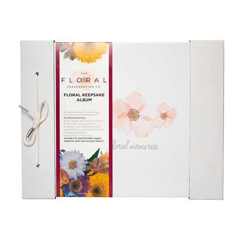 Floral Keepsakes Album