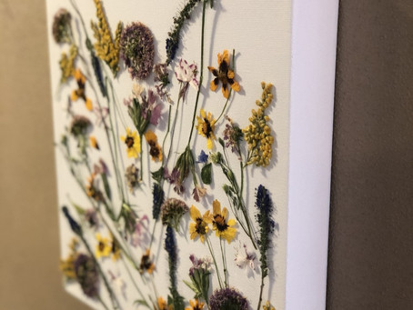 Wonderful Wildflower Wall Decor
