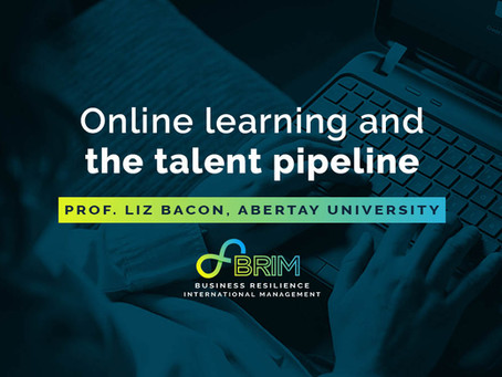 Online learning and the talent pipeline – in conversation with Prof Liz Bacon, Abertay University