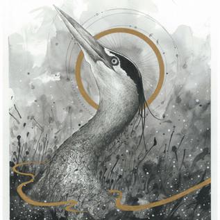 Cosmic Heron