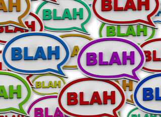 Blah, Blah, Blah: How to reveal your characters' emotions without naming them
