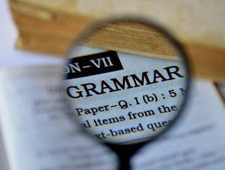 Grammar Lab: The Three Most Common Errors I See
