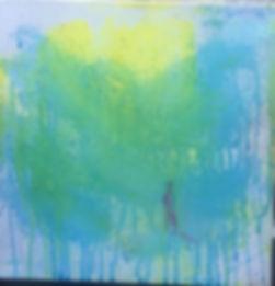 Seaside, Diane Ponder, painting, prak-sis,