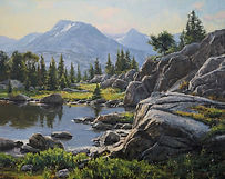 NOAPS Schuerr BeartoothMorning_24x30_oil